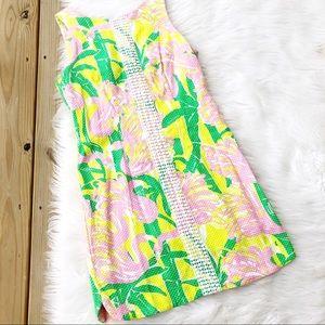 Lilly Pulitzer Mini Tropical Sleeveless Dress